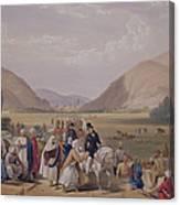 The Entrance Into Caubul Canvas Print