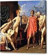 The Envoys Of Agamemnon Canvas Print