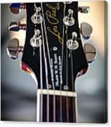 The Epiphone Les Paul Guitar Canvas Print