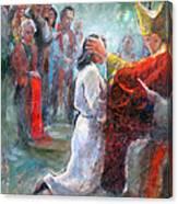 The Episcopal Ordination Of Sierra Wilkinson Canvas Print