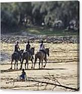 The Equestrians   Canvas Print