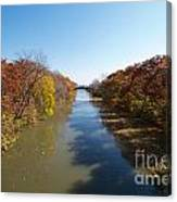 The Erie Canal Canvas Print