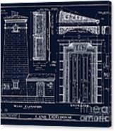 The Erie Land Lighthouse Canvas Print