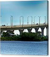 The Ernest F. Lyons Replacement Bridge Canvas Print