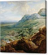 The Escorial, From A Foothill Canvas Print