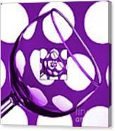The Eternal Glass Purple Canvas Print
