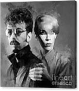 The Eurythmics Canvas Print