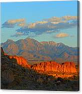 The Ever Changing Beauty Of Monolith Gardens Canvas Print