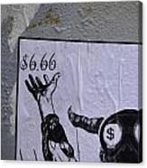 The Evil Means  Canvas Print