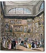 The Exhibition Room At Somerset House Canvas Print