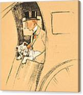 The Extra Passenger Canvas Print
