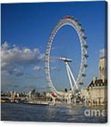 The Eye In London Canvas Print