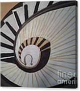 The Eye Of Stairs Canvas Print