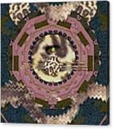 The Eye Of The Hidden Tiger Canvas Print