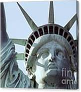 The Face Of Liberty  Canvas Print