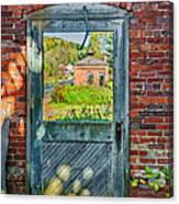 The Factory Door Canvas Print