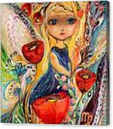 The Fairies Of Zodiac Series - Virgo Canvas Print