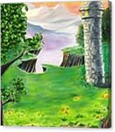 The Fairy Tale Tower Canvas Print