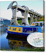The Falkirk Wheel Canvas Print