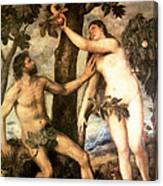 The Fall Of Man Canvas Print