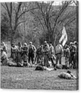 The Fallen Civil War Canvas Print