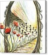 1st World War- Fallen  Canvas Print