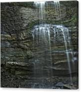 The Falls From Below Canvas Print