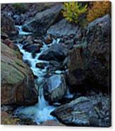 The Falls Of Fall Canvas Print