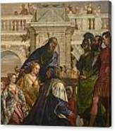 The Family Of Darius Before Alexander Canvas Print