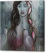 The Fanatic Beauty Canvas Print