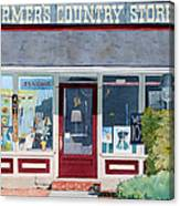 The Farmer's Country Store Canvas Print
