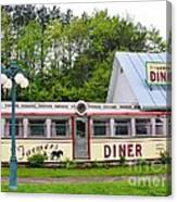 The Farmers Diner In Color Canvas Print