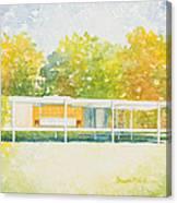 The Farnsworth House Canvas Print