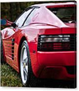 The Ferrari 512 Canvas Print
