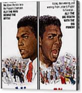 The Fighters, Aka Ali The Fighter, Aka Canvas Print