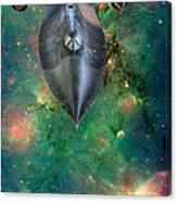 The Final Frontier Canvas Print