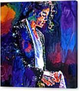 The Final Performance - Michael Jackson Canvas Print
