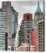The Financial District Canvas Print