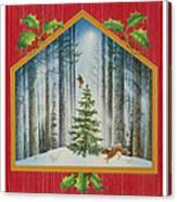 The Fir Tree Canvas Print