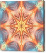 The Fire From Within Mandala Canvas Print