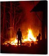 The Fire Starter Canvas Print