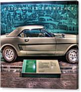 The First Mustang  Canvas Print