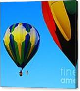 The First One Up  Canvas Print
