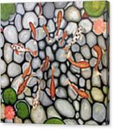 The Fish Pond Canvas Print