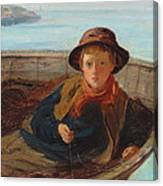 The Fisher Boy Canvas Print