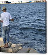 Tunisian Fisherman 3 Canvas Print