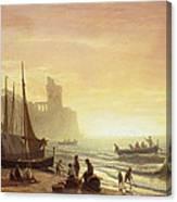 The Fishing Fleet Canvas Print