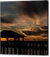 The Fishing Pier Canvas Print