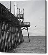 The Fishing Pier Canvas Print