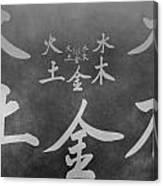 The Five Elements Canvas Print